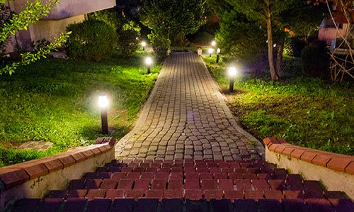 humble landscape lighting design